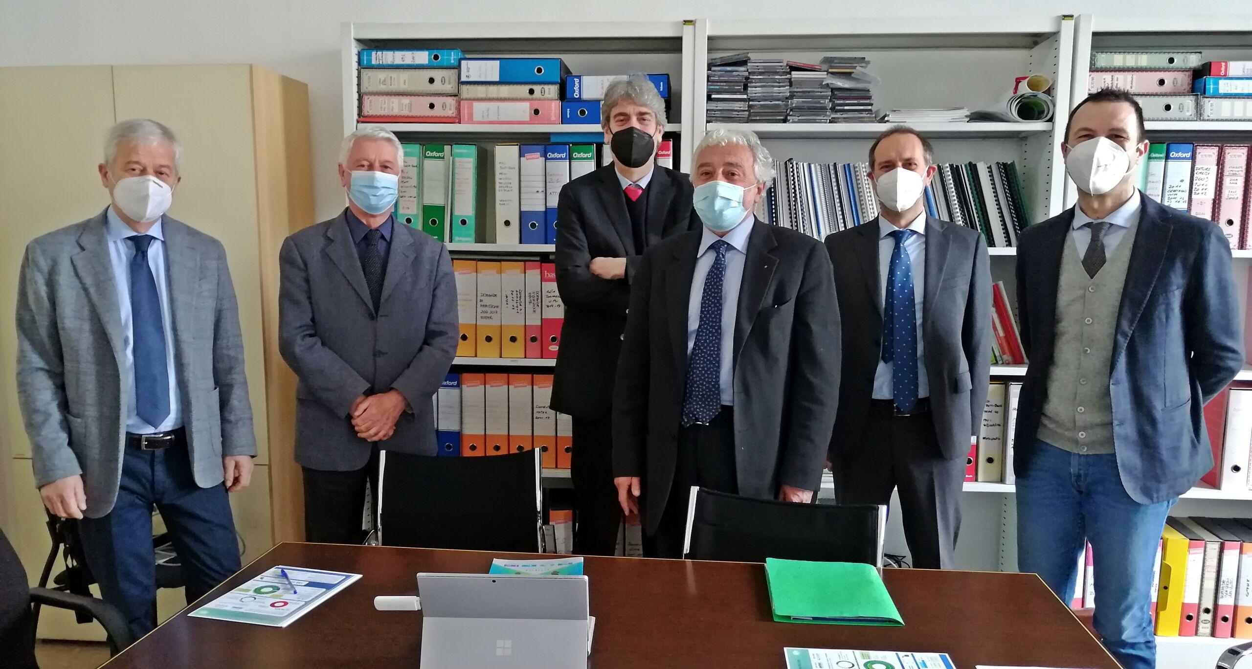 Incontro UN.I.VER. e Fondazione Cassa di Risparmio Vercelli