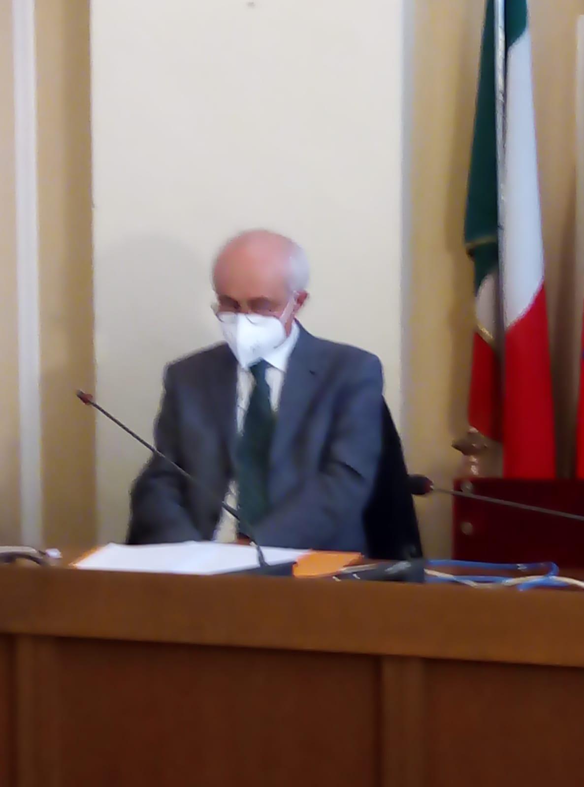 Eugenio Zamperone, presidente degli Amici Parkinsoniani Biellesi